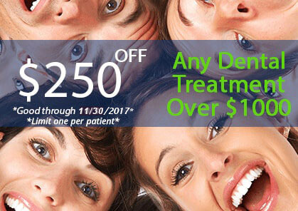 Cleveland Center for Integrative Dentistry $250 OFF Any Dental Treatment Offer