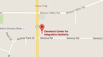 Periodontal Care Mayfield Village - Map and Direction for Cleveland Center for Integrative Dentistry